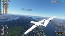 Srovnání grafických presetů Microsoft Fight Simulator 2020 (NY)