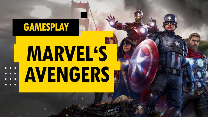 GamesPlay – hrajeme Marvel's Avengers od 15:00