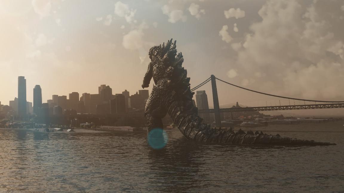 Godzilla díky modu navštíví San Francisco ve Flight Simulatoru