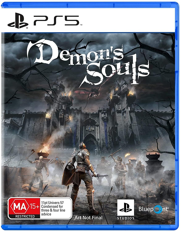 Demon's Souls krabička