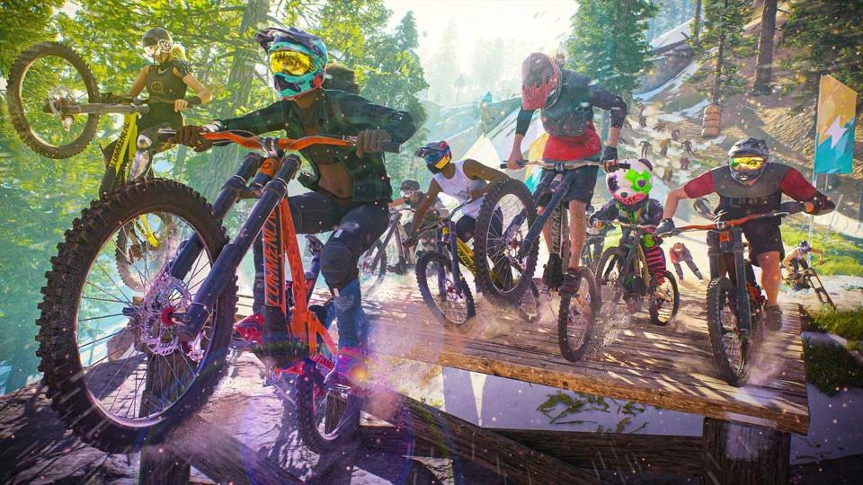 Riders Republic předvádějí adrenalinovou jízdu a oznamují datum vydání