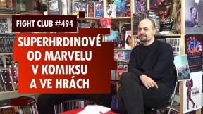 Fight Club #494 s Jirkou Pavlovským o Marvelu v komiksu i ve hrách