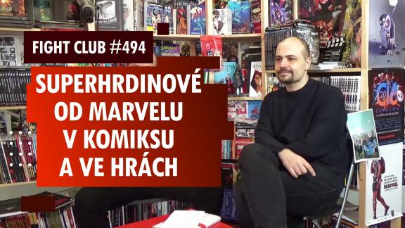 Sledujte Fight Club #494 s Jiřím Pavlovským o Marvelu ve hrách i mimo ně