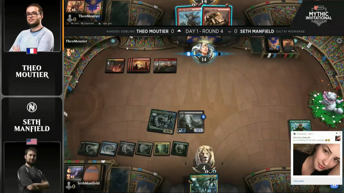 Reklama v turnaji Magic: The Gathering diváky lákala na sex