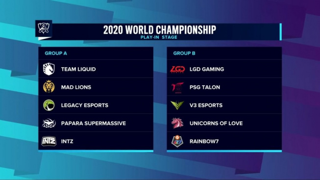 Worlds 2020 Play-In Los