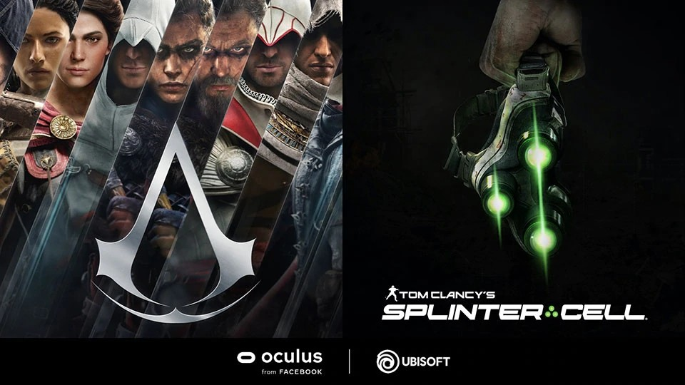 Asassin's Creed a Splinter Cell míří na Oculus VR