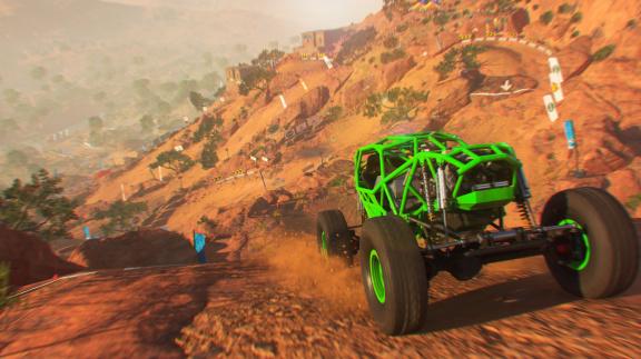 Podívejte se, jak vypadá DiRT 5 na méně výkonném Xboxu Series S