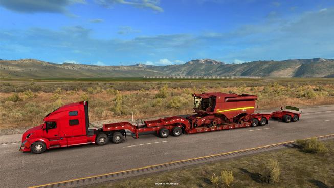 Do American Truck Simulatoru míří dlouhé podvalníky pro nejobjemnější náklady