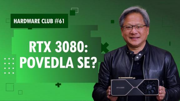 Sledujte od 16:00 Hardware Club #61: Co si myslíme o nové RTX 3080? Má AMD ještě šanci?