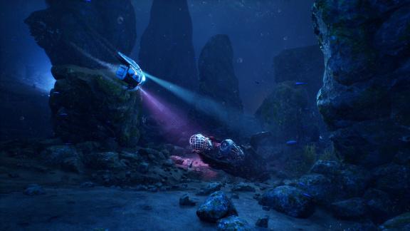 Třetí díl podvodní střílečky Aquanox Deep Descent vyjde už příští měsíc