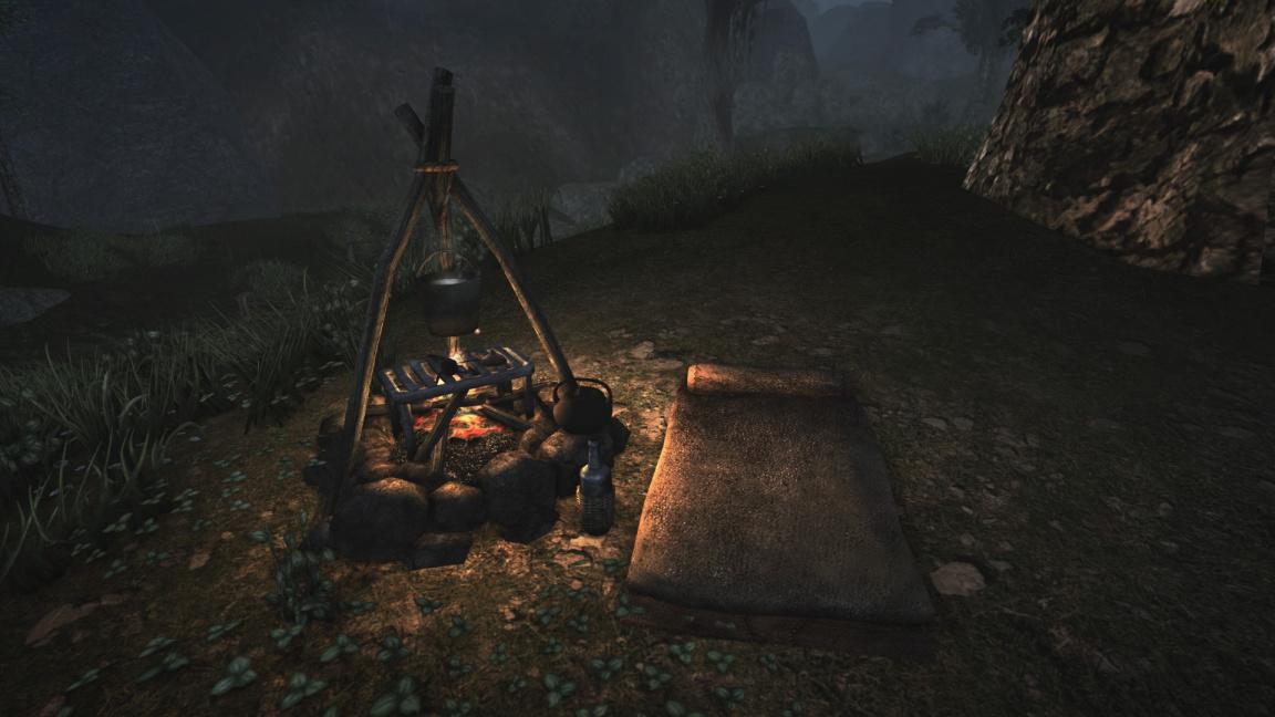 Chystaná modifikace Ashfall udělá z Morrowindu survival