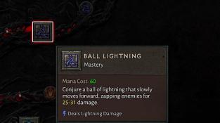 Diablo IV ball lightning