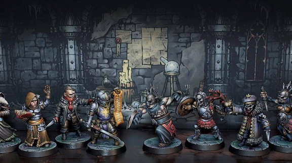 Chystá se stolní hra Darkest Dungeon: The Board Game