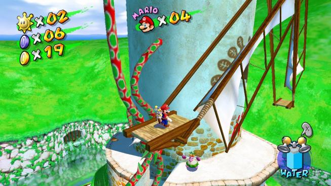 Super Mario Sunshine (3D All-Stars Collection)