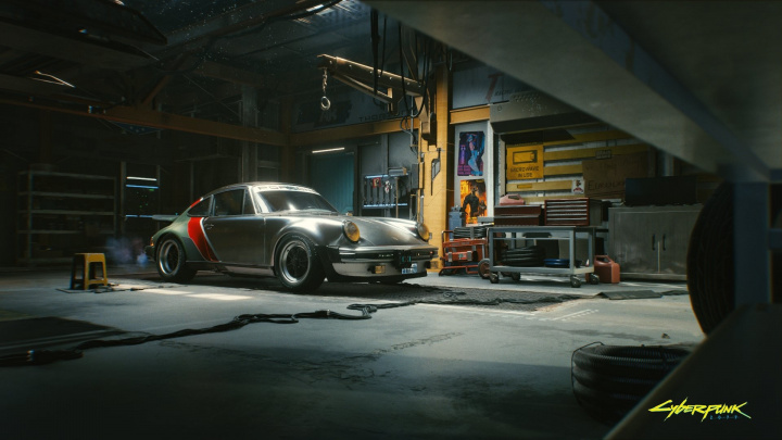 Johnny Silverhand jezdí v Cyberpunku 2077 sto let starým Porsche. Co osedláte vy?