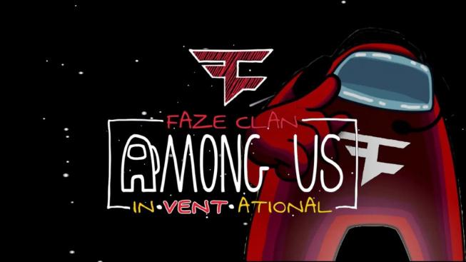 Among Us Live Stream událost v podání FaZe Clanu
