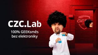 CZC.cz spouští Lab, kde najdete vše od gadgetů, přes komiksy až po herní vinyly