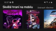 Aplikace Xbox Game Pass