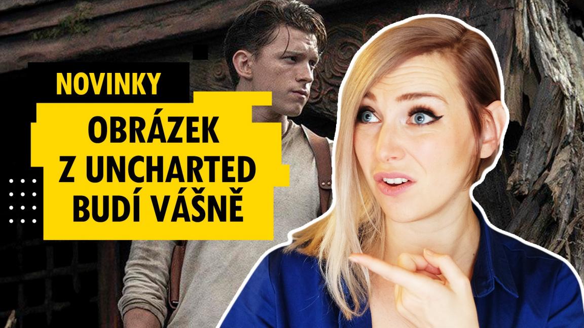Filmové Uncharted ale i nechutný Scorn - novinky 43. týdne