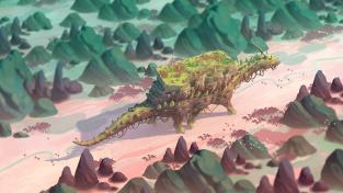 V The Wandering Village postavíte vesnici na zádech obří příšery