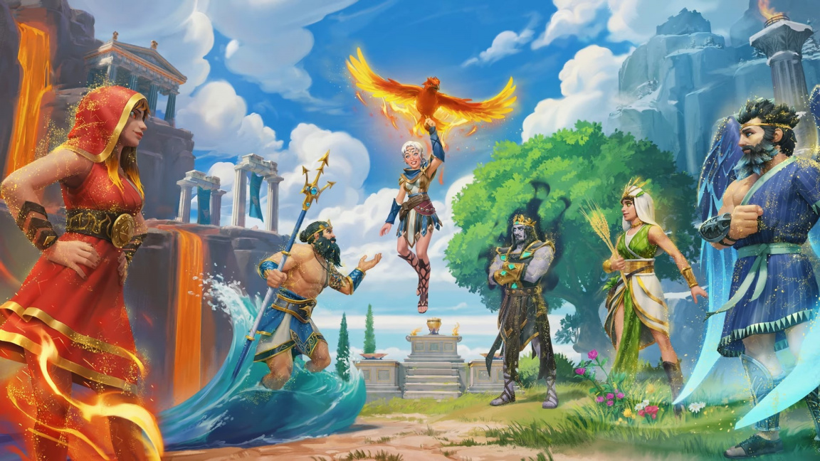 Poslední DLC pro Immortals Fenyx Rising bude plné přírodních katastrof