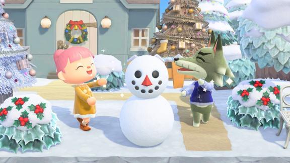 Nalaďte se na sváteční sezónu zimním updatem pro Animal Crossing: New Horizons