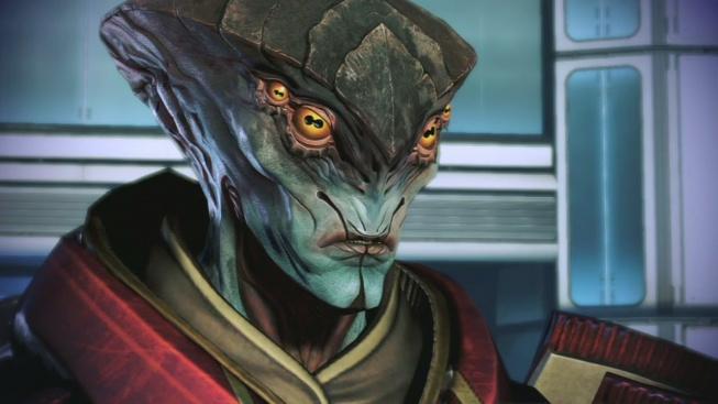 Mass Effect Javik