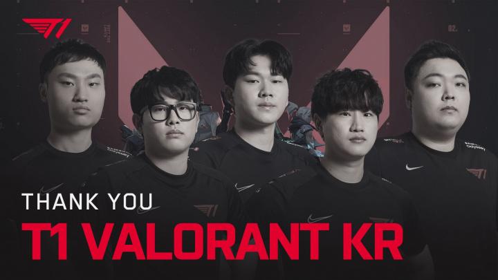 T1 rozpouští svůj jihokorejský Valorant tým