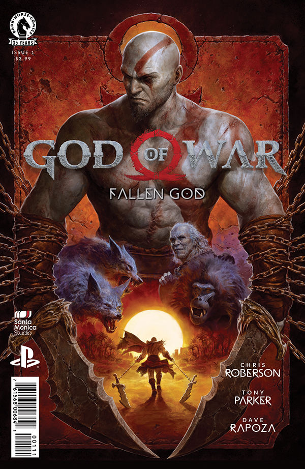God of War: Fallen God komiks