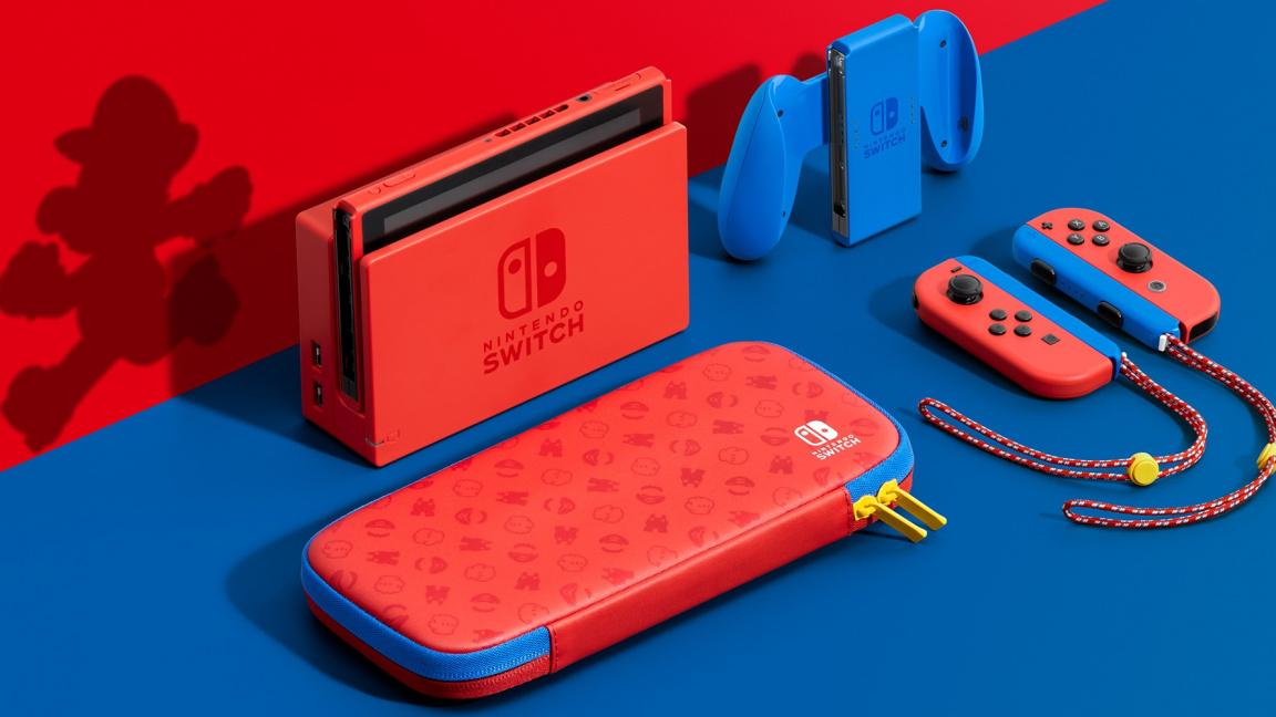 Nintendo představuje limitovanou edici Switche v Mariových barvách