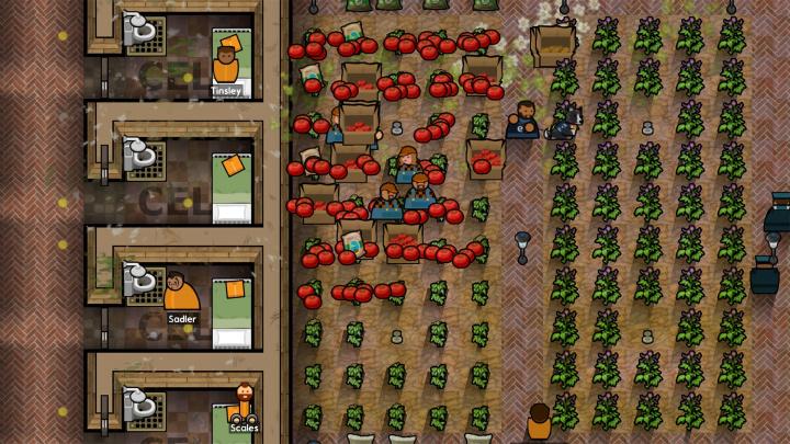 Rozšíření Going Green udělá z Prison Architecta simulátor farmaření