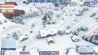 Vybudujte vlastní lyžařský areál v simulaci Snowtopia
