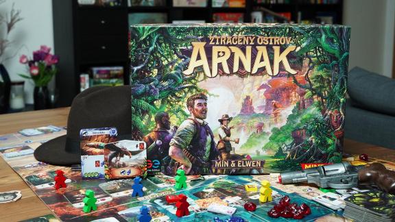 Ztracený ostrov Arnak – videorecenze hry s nádechem Indiana Jonese