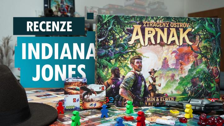 Ztracený ostrov Arnak - videorecenze hry s nádechem Indiana Jonese