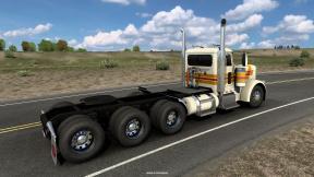 American Truck Simulator – nápravy