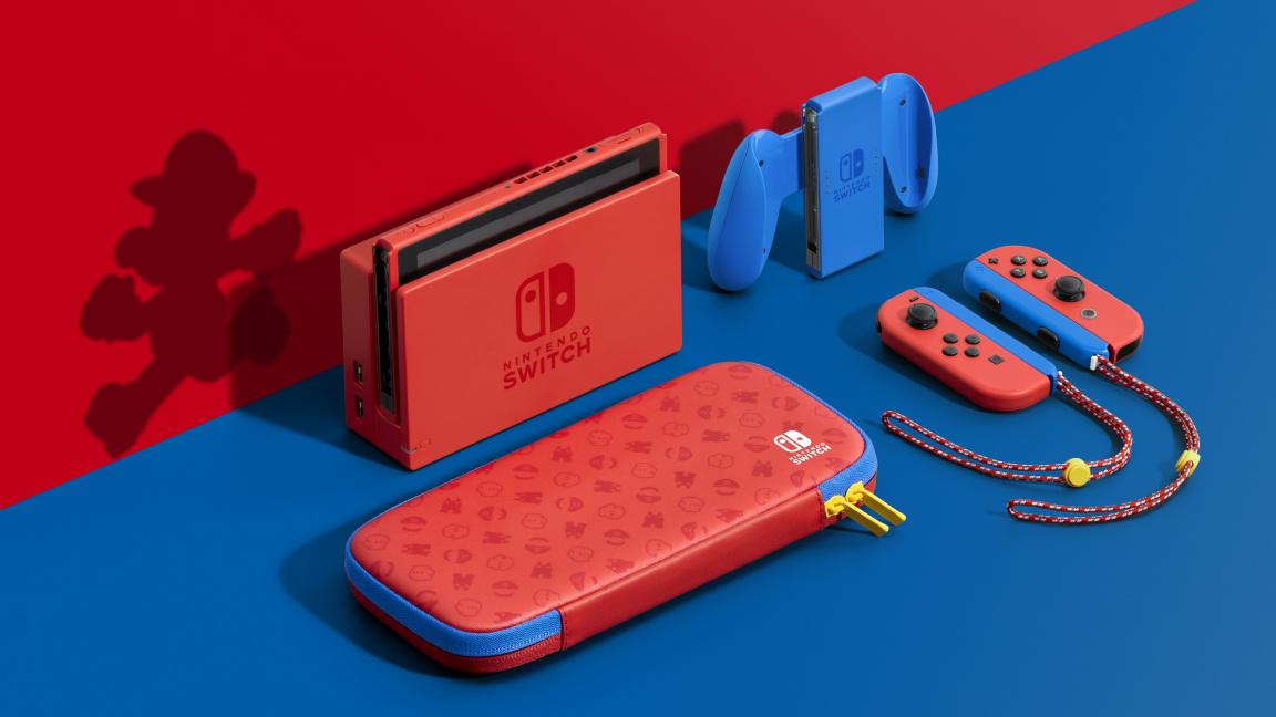 Zasoutěž si o Mariovu Red & Blue verzi konzole Nintendo Switch a trojici her
