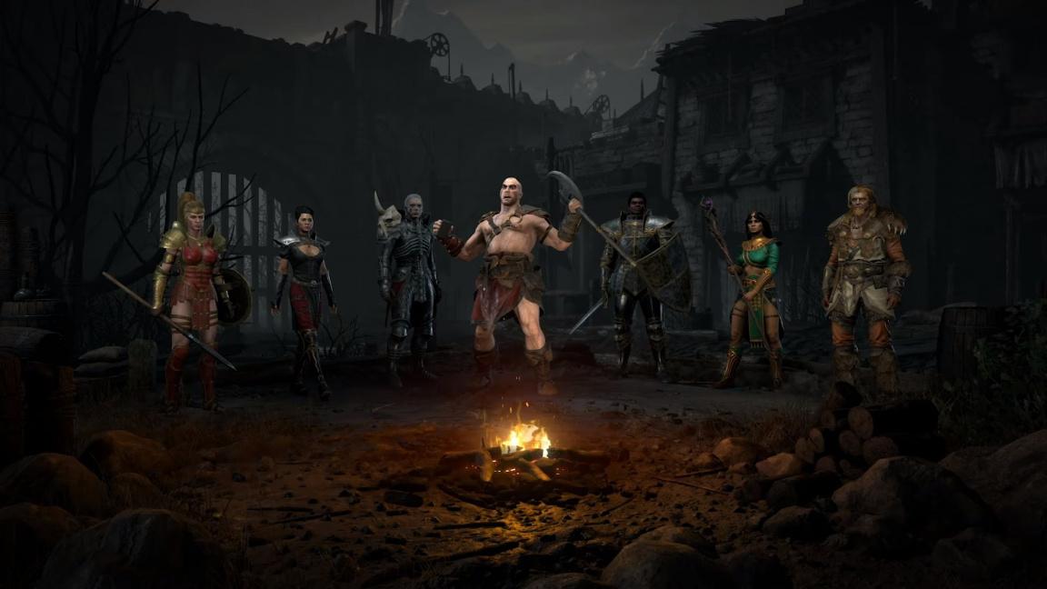 Jakou postavu si zahrát v Diablo II: Resurrected?