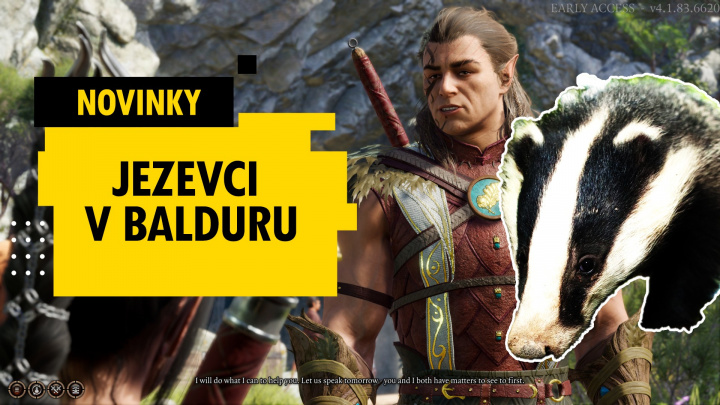 Nová třída druidů v Baldur's Gate III – novinky 7. týdne