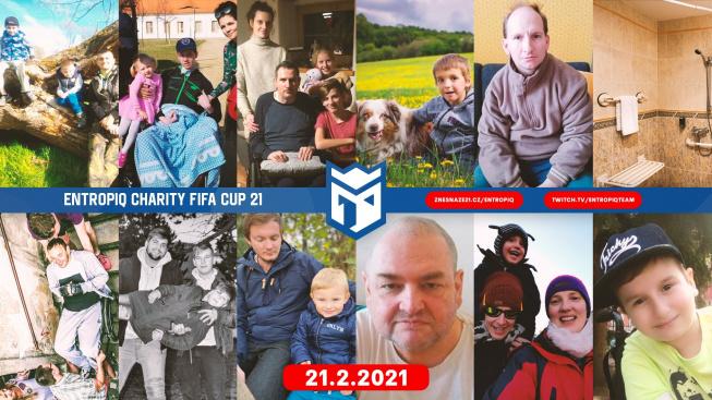 Znovu pomáháme společně! ENTROPIQ CHARITY FIFA CUP 21 začíná!