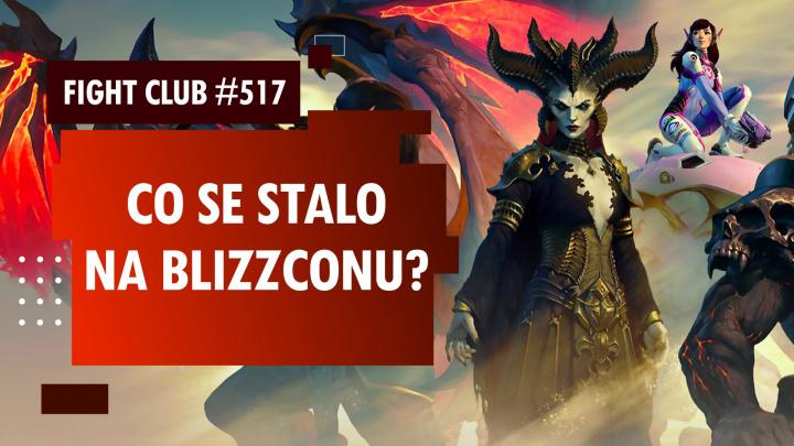 Sledujte Fight Club #517 o novinkách z BlizzConline 2021