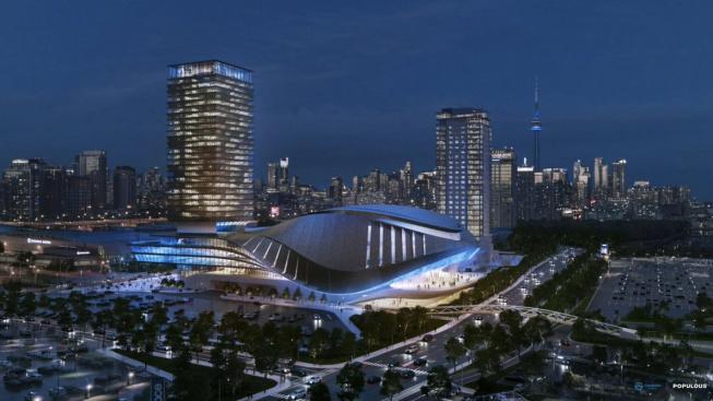 Nová esportová hala v Torontu pojme až 7 000 diváků