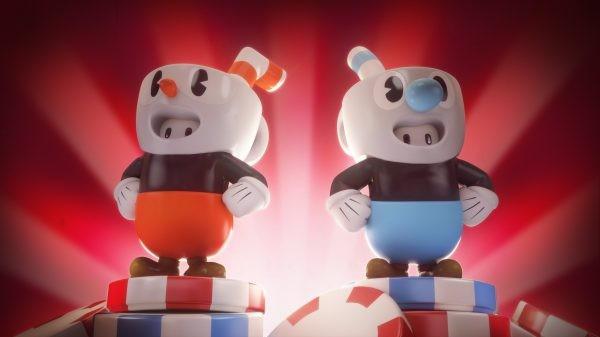 Fall Guys brzy rozšíří skákačkové duo Cuphead a Mugman