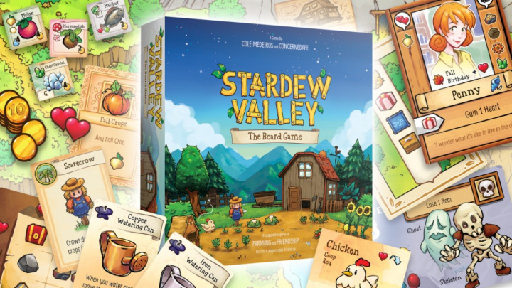 Vyšla stolní hra Stardew Valley a vypadá parádně