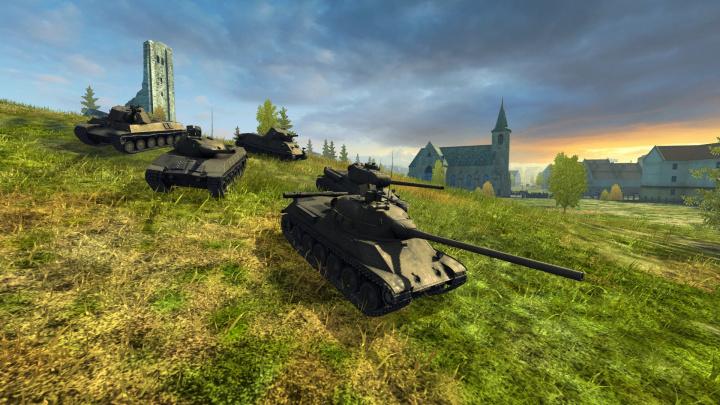 Do World of Tanks Blitz konečně dorazily československé tanky