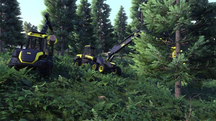 Toužíte po práci v lese? Zkuste simulátor dřevorubce Lumberjack's Dynasty