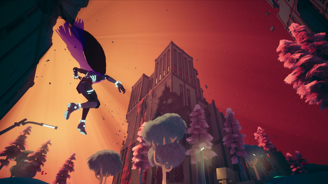 Tvůrci Hyper Light Drifter brzy vydají akrobatickou akční adventuru Solar Ash
