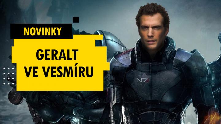 Henry Cavill jako Shepard?! – novinky 8. týdne