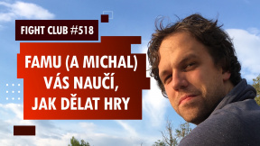 Fight Club #518: Nový obor herní design na FAMU s Michalem Berlingerem
