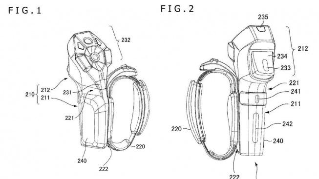 Sony patent ovladač vr