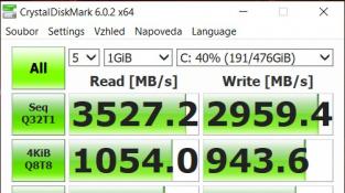 CrystalDiskMark (1GB)